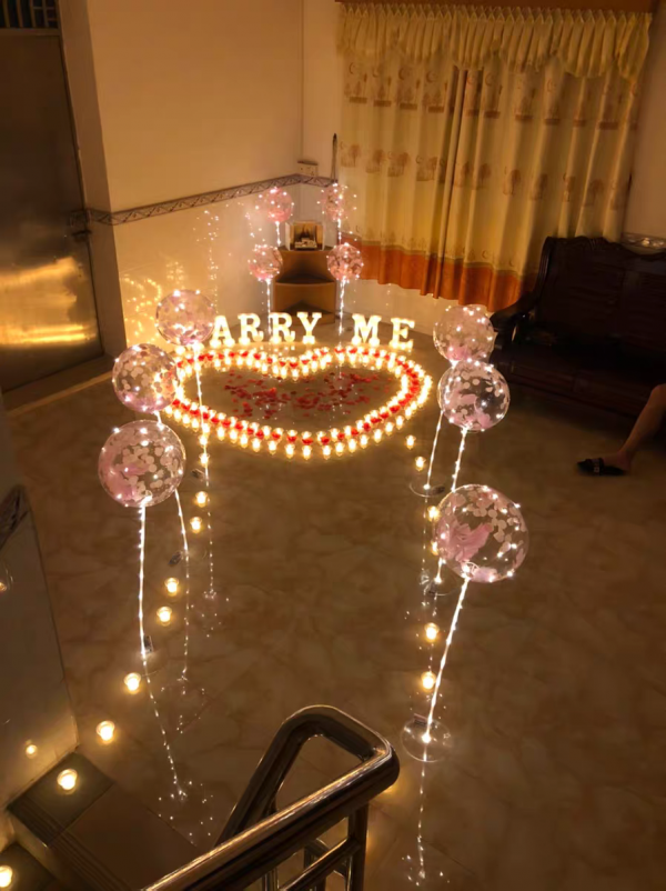 Marry Me Marriage Proposal LED Lights