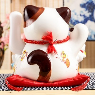 Fengshui Cat Fortune Everywhere 24cm