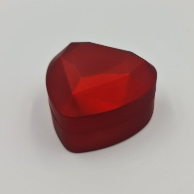 LED Ring Box Heart Shape