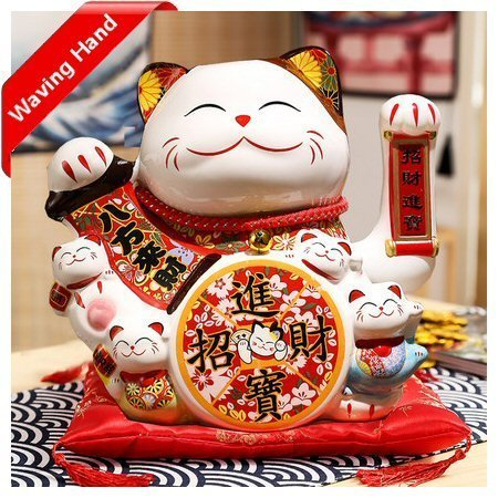 Fengshui Cat Fortune Everywhere