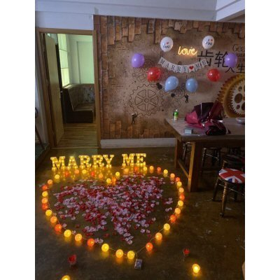 Marriage Proposal Scene Layout
