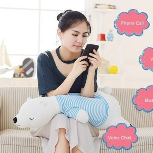 Bluetooth Speaker Pillow Bolster Doll