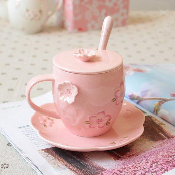 Cherry Blossom Mug Coffee Cup