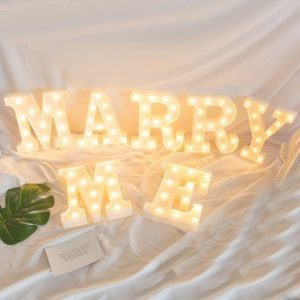 Marry Me LED Lights