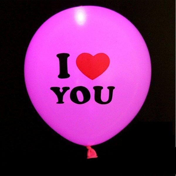 Party Luminous Balloon Decoration