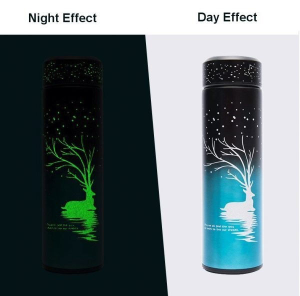 Glow-in-dark Thermos Portable