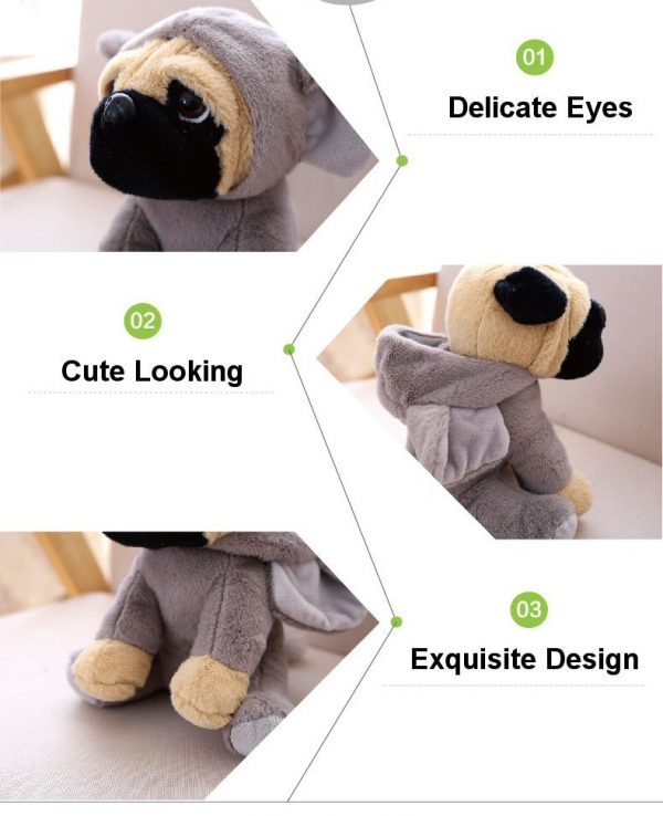 Cute Plush Toy Bulldog