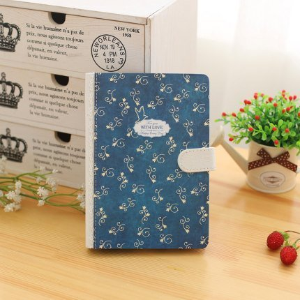 Hard Cover Notebook Magnetic Clip