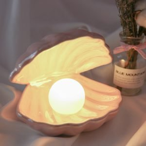Ceramic Pearl Shell Lamp