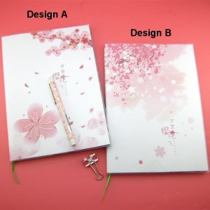 Cherry Blossom Color Notebook
