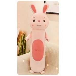 Rabbit Doll Pink Pillow