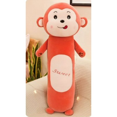 Monkey Doll Long Pillow 90cm