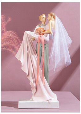 Wedding Gift Modern Bridal Figurines