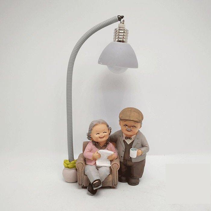Anniversary Elder Figurines Modern Lights