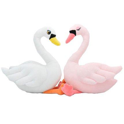 Swan Couple Plush Toy
