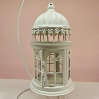 European Garden Hollow Iron Wind Lantern 45 cm