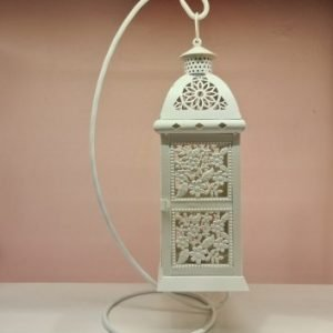 European Garden Hollow Iron Wind Lantern