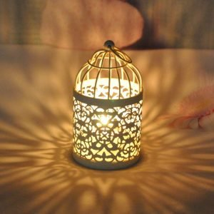 Cage Candle Round Lamp