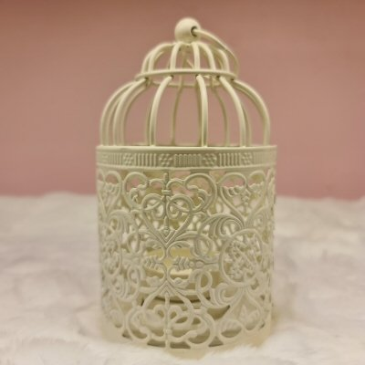 Cage Candle Round Lamp 14 cm