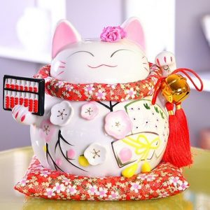 Lucky Cat Piggy Bank