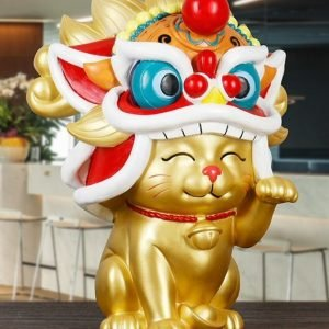 Fortune Cat Gold Lion