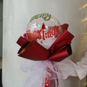 Christmas Balloon Snowman