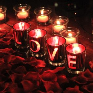 Love Letter Candle Holder