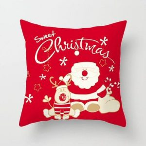 Santa Plush Pillow Cushion