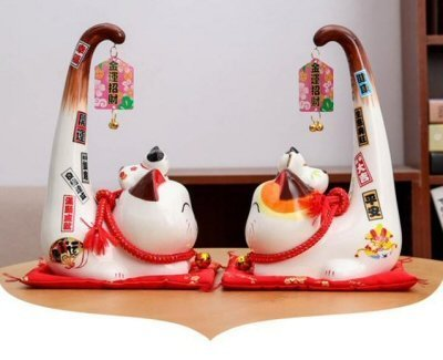 Fortune Cat Long Tail
