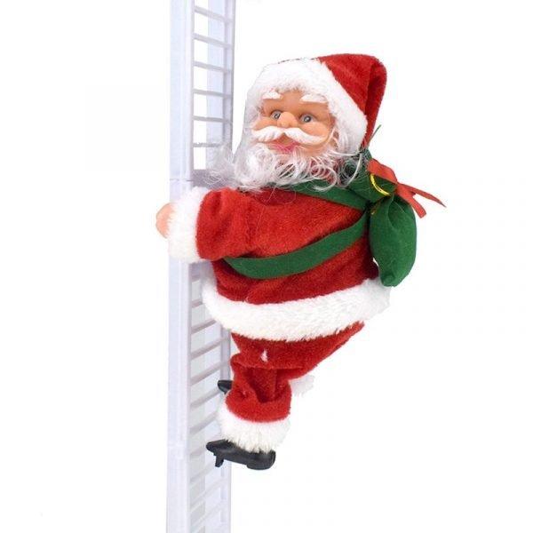 Musical Santa Claus Climb Stair 56 cm