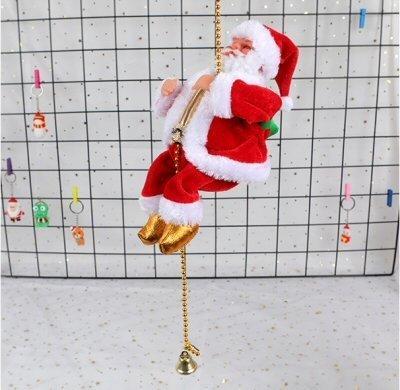 Musical Santa Claus Climbing Bead 100 cm