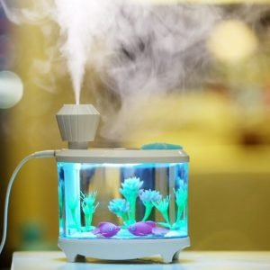 Aquarium Humidifier Colorful Night