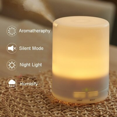 Ultrasonic Aromatherapy Humidifier 300 ml