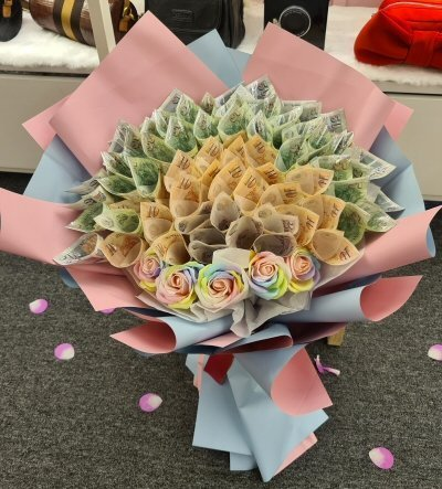 Money Flowers Bouquet