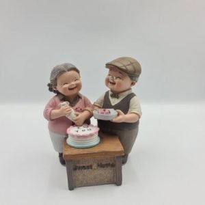 Elder Figurines Birthday Cake