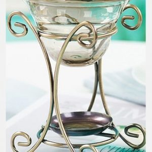 Wrought Iron Aroma Candle Stove