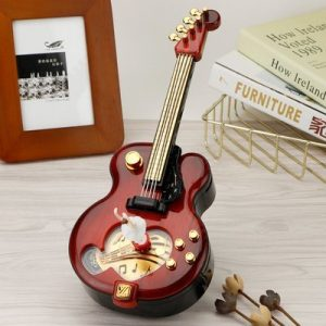 Guitar Spinning Ballet Girl Music Box