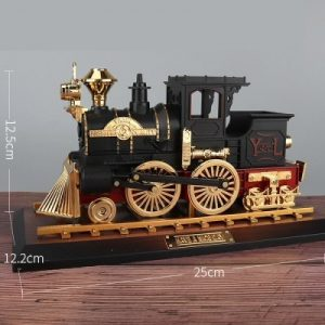 Retro Locomotive Music Box