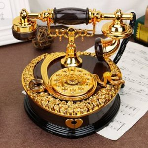 Retro Vintage Telephone Music Box