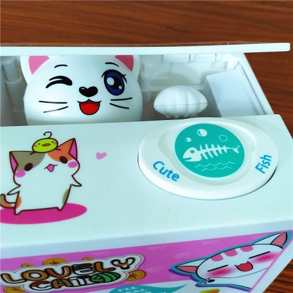 Electric Coin Box Lucky Cat