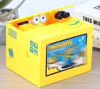 Electronic Minion Piggy Bank