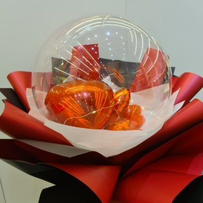 Mylar Foil Love Balloon Bouquet