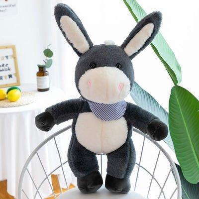 Cute Donkey Plush Toy Moving Ears