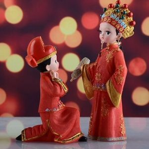 Wedding Figurines Ask Forgiveness