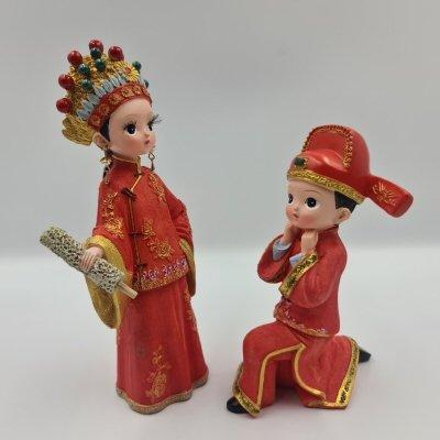 Wedding Figurines Ask Forgiveness