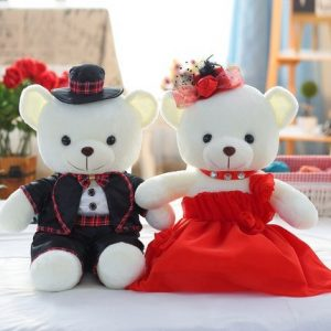 Wedding Gift Plush Toys Couple Bear