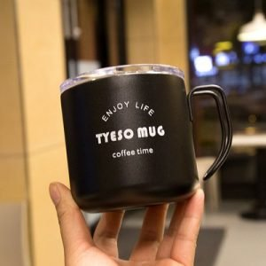 Stainless Steel Coffee Mug 350ml