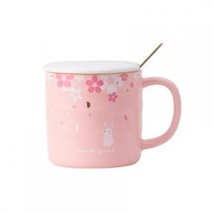 Cherry Blossom Porcelain Cup 360ml