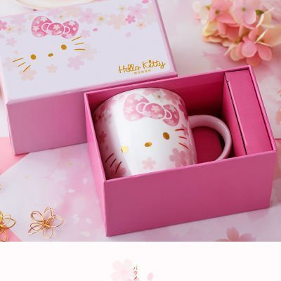 Hello Kitty Cherry Blossom Cup Box Set 200ml