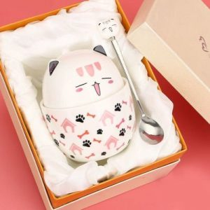 Cute Cat Ceramic Cup 350ml